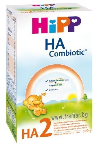 Hipp  Бебешко адаптирано мляко за малки деца JUNIOR Combiotic  3  9м+ 500 гр.
